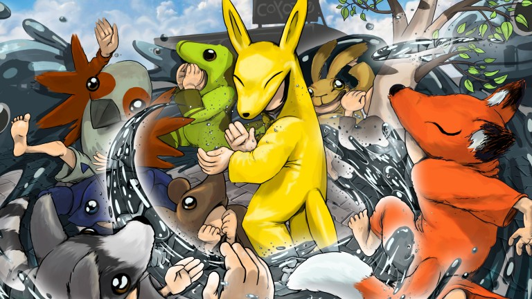 Key Art - Coyote and its friends